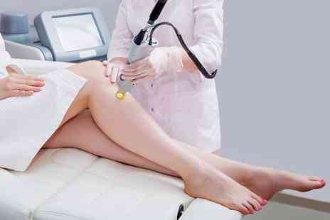 Bs Skin & Beauty Laser Clinic - Three sessions of IPL or Diode Laser Hair Removal on 1 large area - Save 85%