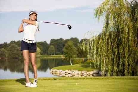 Brookdale Golf Club - 12 month ladies golf club membership - Save 92%