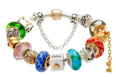 Shopperheads - Love Lock Charm Bracelet - Save 80%