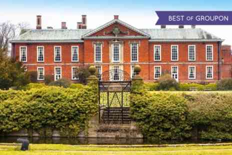 Bosworth Hall Hotel - One Night Stay for Two with Dinner and Bottle of Wine - Save 0%