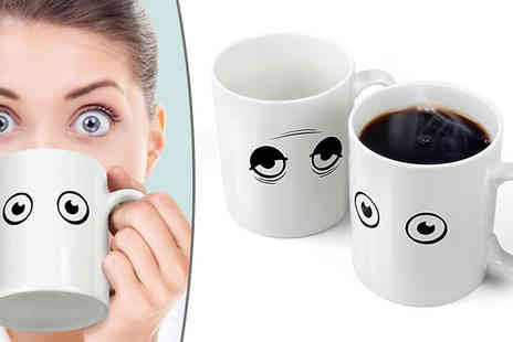 Shopperheads - Wake up Expression Changing Coffee Cup - Save 65%