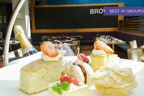 Browns at The Mere Resort - Afternoon Tea with Optional Prosecco or Champagne for Two - Save 45%