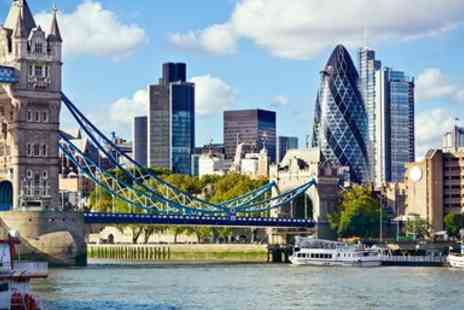 Fabiano Hotels - Champagne Afternoon Tea for 2 with Thames Views - Save 35%