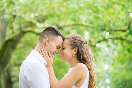 KND Photography - Two hour engagement or pre wedding photoshoot including 90 digital images - Save 77%