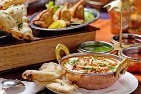 Chester Tandoori - Two Course Indian Meal with Rice, Naan and Side for Two, Four, Six or Eight - Save 44%