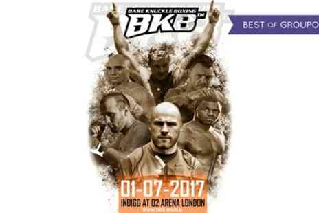 BKB Events - Bare Knuckle Boxing ticket on 1 July - Save 63%