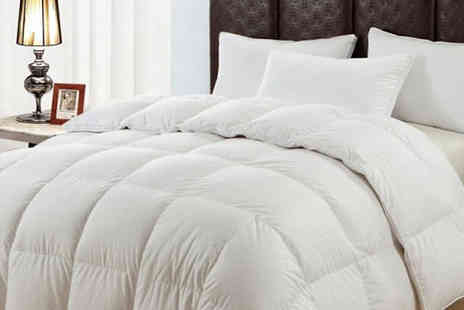 luxury bed and warehouse - Premium Hotel Quality 13.5 Tog Microfibre Duvet Four Sizes - Save 75%