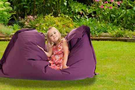 UK Beanbags - Large indoor and outdoor big brother beanbag - Save 66%