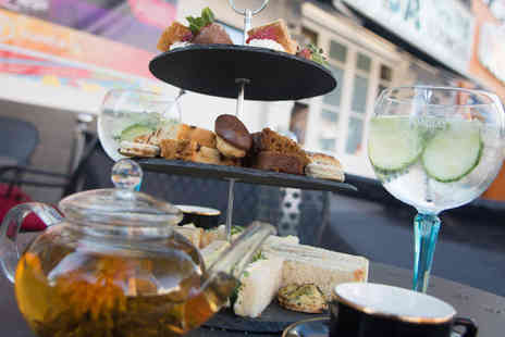 Soda Bar Cardiff - Afternoon tea for two with a glass of Prosecco or a gin and tonic each - Save 55%