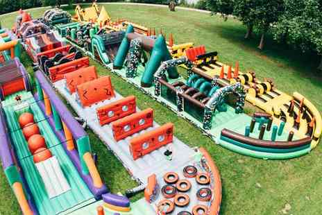 Betteshanger Country Parks - VIP ticket to The Beast inflatable obstacle - Save 40%