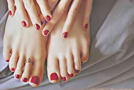 KLM Nails - Gel Nail Fingers or Toes or Both - Save 33%