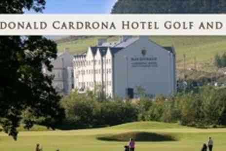 Macdonald Cardrona Hotel - Round of Golf and 50 Driving Range Balls Plus Refreshments For Two - Save 58%