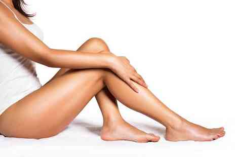 Justine Louise Beauty & Aesthetics - Three or six sessions of IPL hair removal - Save 68%