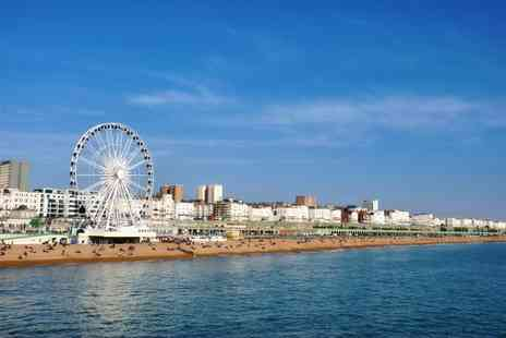 Britannia Hotels - Overnight Brighton stay for two with full English breakfast, a buffet dinner and a jug of Pimms - Save 47%
