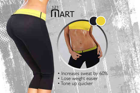 121 Mart - Pair of slimming workout leggings - Save 70%