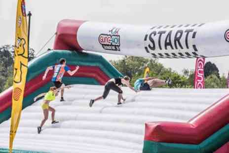 Be Gung Ho - Entry to Gung Ho Inflatable Obstacle Run for One - Save 27%