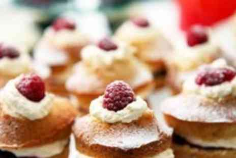 Just the Ticket - Afternoon tea for 2, including your choice of hot or cold drink and a slice of home made cake - Save 59%