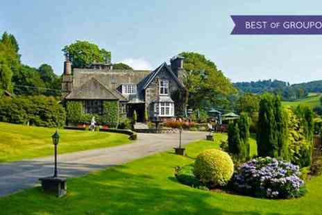 Broadoaks Country House - One Night Stay for Two with Breakfast, Four Course Dinner and Spa Access - Save 37%
