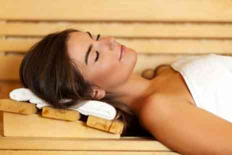 Six Rooms Hair & Beauty - Infrared Sauna Session and Two Sessions on the Massage Chair for One or Two - Save 51%