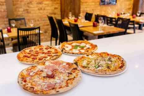 Pizza Uno 1 - Two Course Pizza or Pasta Meal for Two or Four - Save 57%