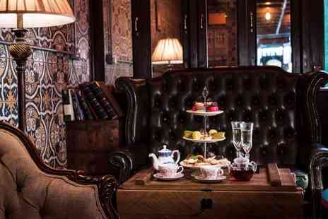 Map Maison - Champagne afternoon tea for Two - Save 32%