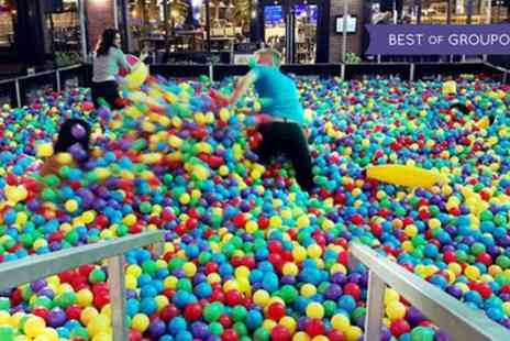 Ball Mania - Two general admission adult tickets to play in a giant adults only ball pit - Save 46%