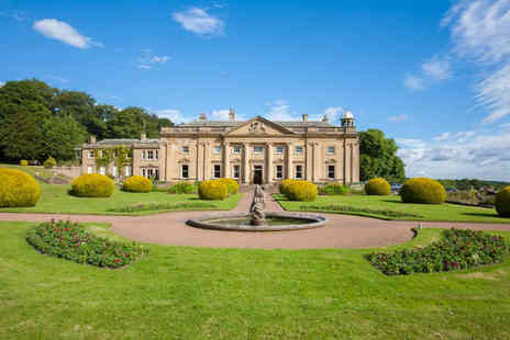 Wortley Hall - One or two night stately home stay for two with cream tea on arrival and a bottle of Prosecco - Save 38%
