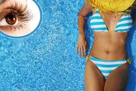 Nirvana Lodge - £15 Full Body Spray Tan and Temporary False Lashes - Save 53%
