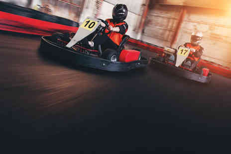 Karting UK - 30 lap karting experience for one, two, four or ten - Save 0%