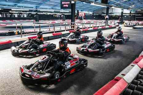 Activity Superstore - 50 laps of go karting for two - Save 45%