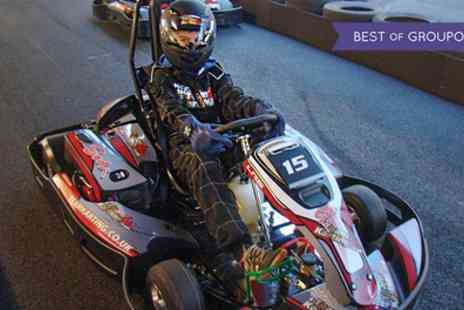 Teamkarting - 30 Minutes or Up to 50 Laps of Karting for Up to Six - Save 46%