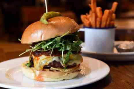 The Peppercorn - Gourmet Burger and Drink for Two - Save 44%