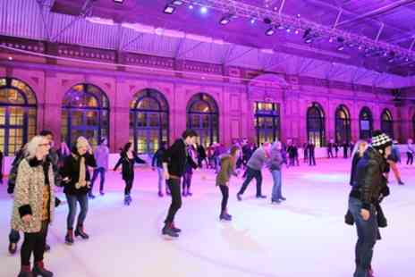 Alexandra Palace - Ice Skating with Skates Hire for Up to Four - Save 50%