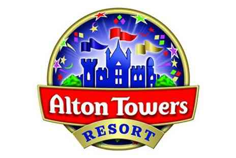 Alton Towers Resort - Visit to Alton Towers Resort with Lunch for Two Adults - Save 0%