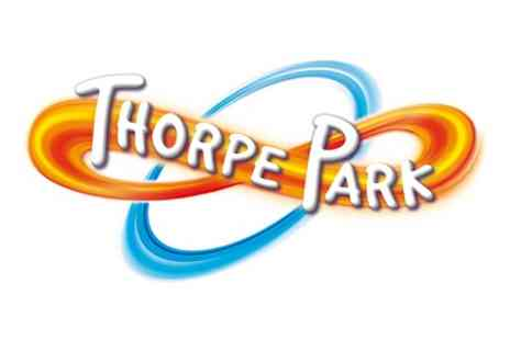 Thorpe Park Resort - Visit to Thorpe Park Resort and Lunch for Two Adults - Save 0%