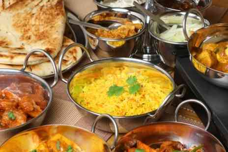 Indian Night - Two Course Meal with Rice or Naan for Two or Four - Save 64%