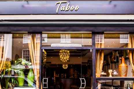 Caffe Taboo - Middle Eastern Afternoon Tea for Two or Four - Save 24%