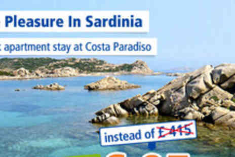 Meriva SRL - Apartment stay in gorgeous Sardinia for 2 people - Save 77%