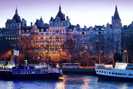 The Royal Horseguards - Five Star Stunning Hotel Stay For Two Overlooking Thames - Save 63%
