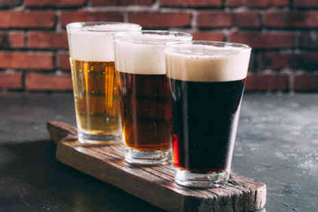 London Beer Lab - Tasting of five craft beers for one or Two - Save 0%