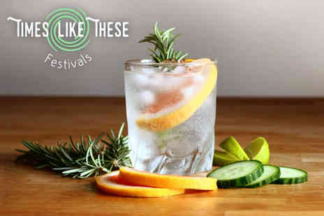 Times Like These Festivals - Ticket to the Times Like These gin festival on Sat 22nd in Glasgow or 29th July - Save 51%