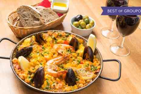 Jamon Jamon - Tapas or Paella with Drinks for Two or Four - Save 40%