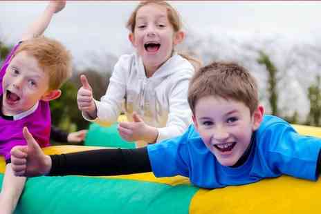 Fun Active - Ticket to a 3km obstacle run course for kids - Save 39%
