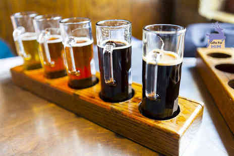Bier Huis - Beer tasting experience for two with nibbles plus a bottle of your favourite beer to take home - Save 0%