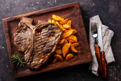 NYD - Choice of Steak with Sides and a Drink for Two or Four - Save 36%
