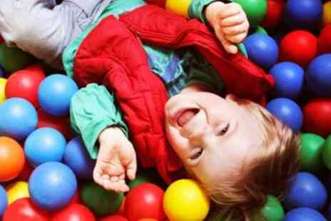 Gambado - Indoor activity And soft play Entry for up to Two Children and Two Adults  - Save 49%