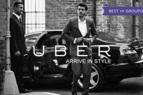 Uber - Uber £15 Towards a Car Journey for New Uber Customers Only - Save 80%