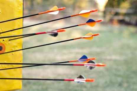 Yorkshire Field Sports - One Hour Archery Experience with Hot Drink for One or Two - Save 47%