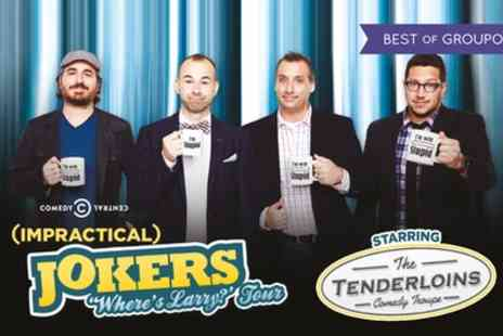 The Impractical Jokers - Ticket to see The Impractical Jokers, Wheres Larry? Tour, One Category A, B or C Ticket on 4 to 14 October - Save 0%