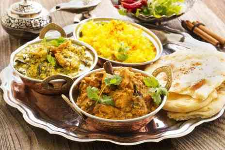Tikka Masala - Two course Indian dining for two - Save 47%
